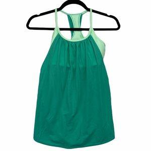 Lululemon No Limits Tank Green Mint Size 4
